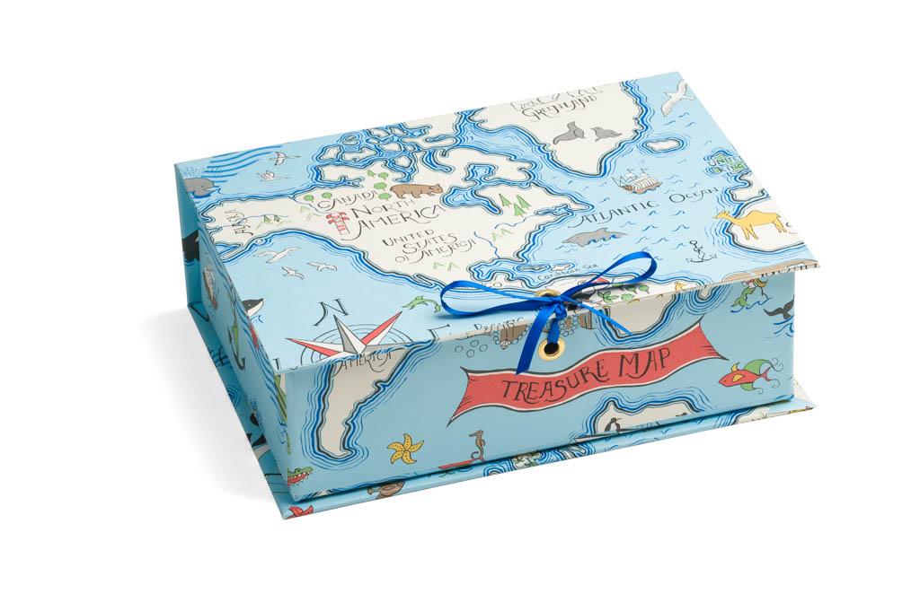 Treasure Box in Treasure Map