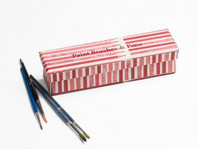 Paintbrushes & Pens Box
