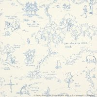 One Hundred Acre Wood Blue