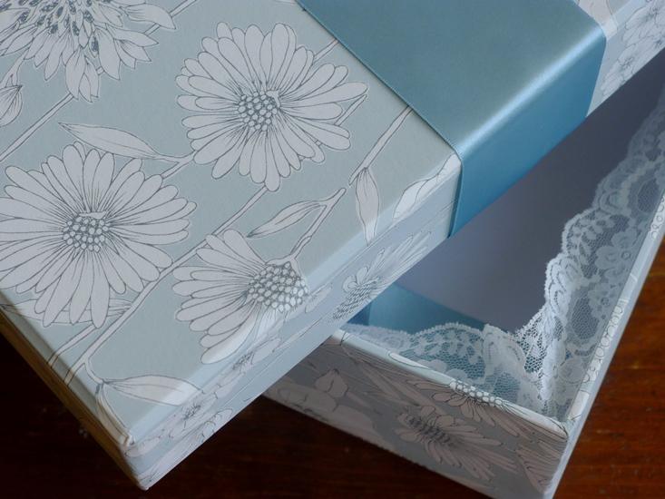 Detail on Maisy Blue Design