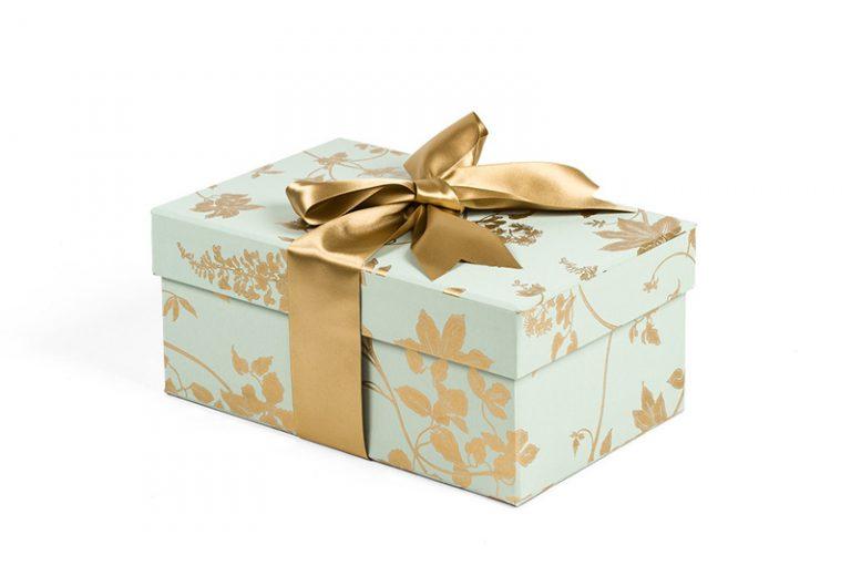 Shoe Box in Wisteria Green